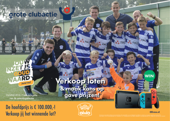 OLIVEO Grote Clubactie