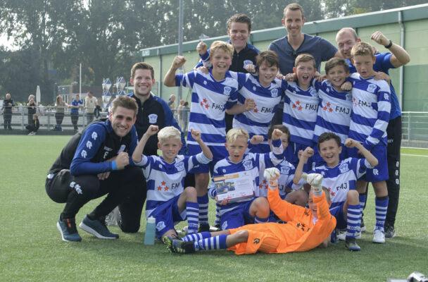 OLIVEO JO11-1 2021 jeugdvoetbal in Pijnacker
