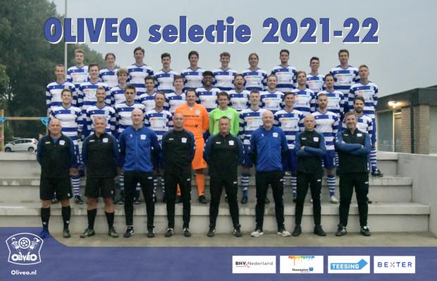 OLIVEO Selectie 2021-22 teamfoto
