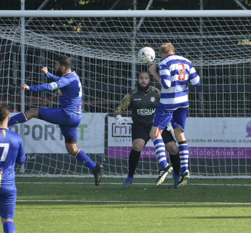 OLIVEO 1 - Haagse Hout 1- Tim van Rheenen kopbal doelpunt
